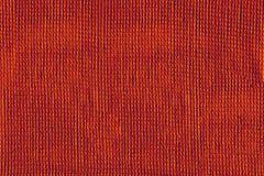 红色织品纹理 库存照片
