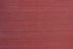 红色织品纹理 图库摄影