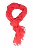 红色围巾 免版税图库摄影