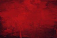 红色画布背景 免版税库存照片