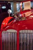 红色1936年帕卡德跑车汽车 库存照片
