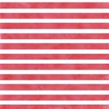 红色水彩条纹 库存图片
