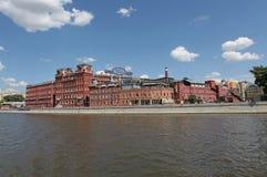 红色10月巧克力工厂,莫斯科 库存图片