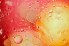 红色/橙黄色五颜六色的抽象设计/纹理 免版税图库摄影