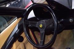 红色1982年法拉利308 GTSi 免版税库存图片