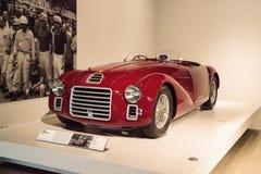 红色1947年法拉利125 S 库存图片