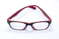 红色玻璃01 库存图片