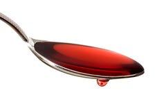 红色维生素 免版税库存图片