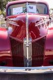 红色1940年福特小轿车 免版税库存图片