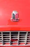 红色1957胜利跑车 图库摄影