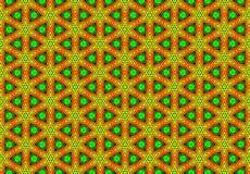 红色绿色黄色geomatics样式墙纸 库存图片