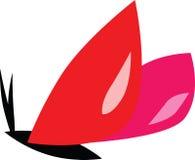 红色蝴蝶 库存照片