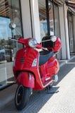 红色滑行车 库存照片