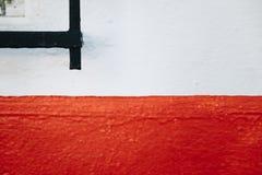红色主街上 免版税库存图片