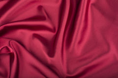 红色(酒的)丝绸 图库摄影