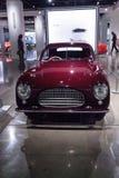 红色1947年Cisitalia 202小轿车 免版税库存照片