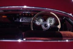 红色1947年Cisitalia 202小轿车 免版税库存图片