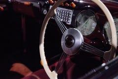 红色1947年Cisitalia 202小轿车 库存照片