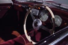 红色1947年Cisitalia 202小轿车 免版税图库摄影