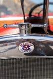 红色1931年Seagrave郊区居民500 GPM消防车消防车 免版税库存图片