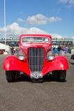 红色1934年福特小轿车 免版税库存图片