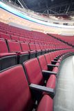 红色3把的椅子 免版税库存图片
