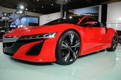 红色Acura NSX概念 免版税图库摄影