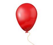 红色baloon 免版税库存图片