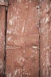 红色barnboard 库存图片