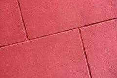 红色brickwall纹理  库存照片