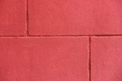 红色brickwall纹理  免版税库存图片