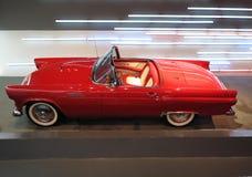 红色Chevrolet Corvette汽车 库存照片
