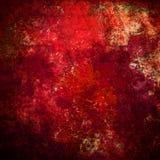红色grunge纹理 库存图片