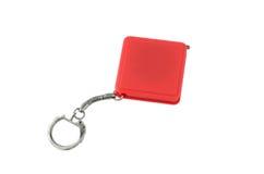 红色keychain 免版税库存照片