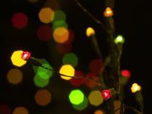 红色LED 库存照片