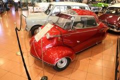 红色Messerschmitt KR200 库存照片