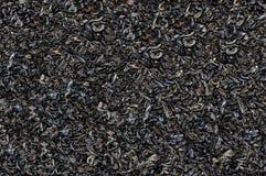 红茶宽松干茶叶, marco 免版税库存图片