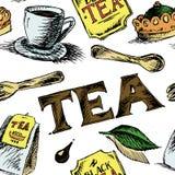 红茶样式 库存图片