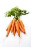 红萝卜一束 免版税库存图片