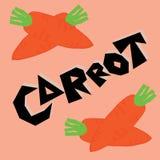 红萝卜例证 免版税库存照片