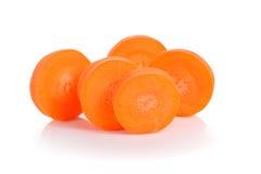 红萝卜切片 库存照片