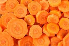 红萝卜切背景 库存图片
