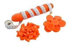 红萝卜和米 免版税图库摄影