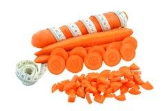 红萝卜和米 免版税库存图片