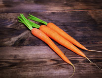 红萝卜新鲜三 库存图片