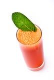 红萝卜新鲜的汁薄菏 免版税图库摄影