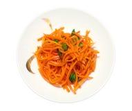 红萝卜沙拉 库存图片