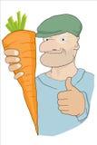 红萝卜赢取 库存照片