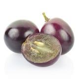 红葡萄浆果 免版税库存照片