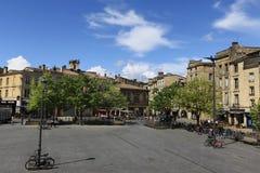 红葡萄酒城市 库存图片